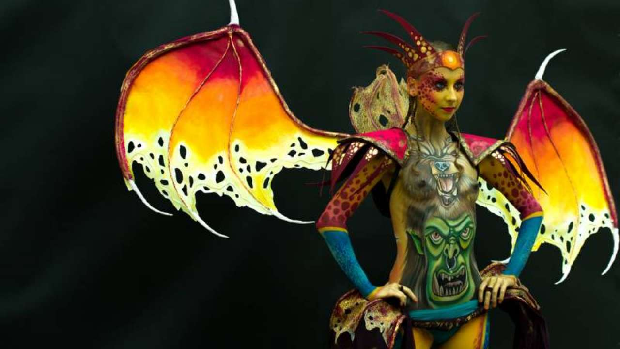 Italian Bodypainting Festival 2019 Events 2019 At Lake Garda Verona Veneto