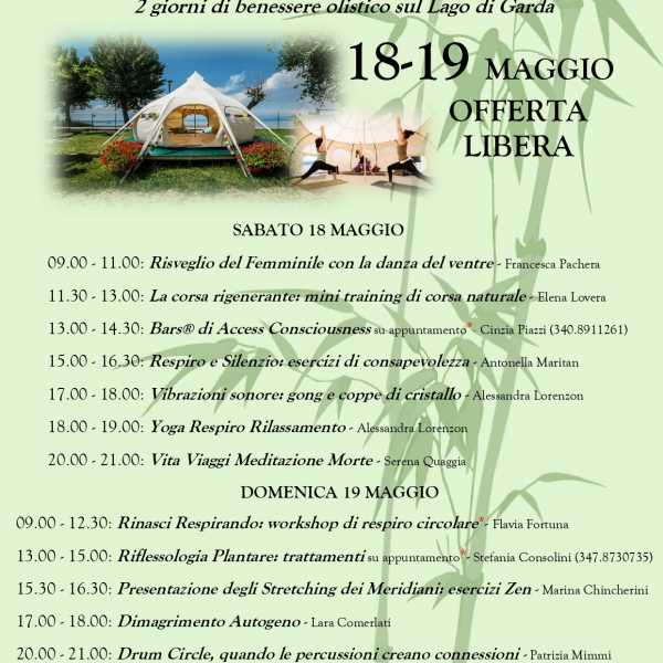 Weekend Benessere al Lotus Camp